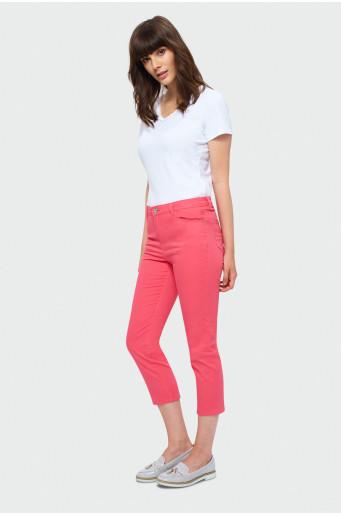 Orange 7/8 pants