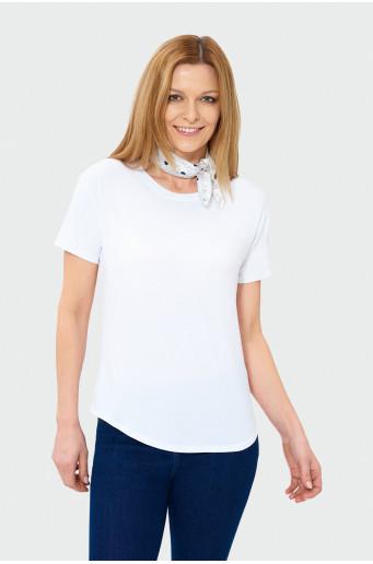 Bílý oversize top