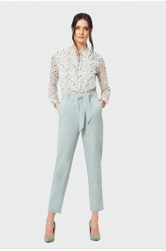 Elegantné nohavice typu chino
