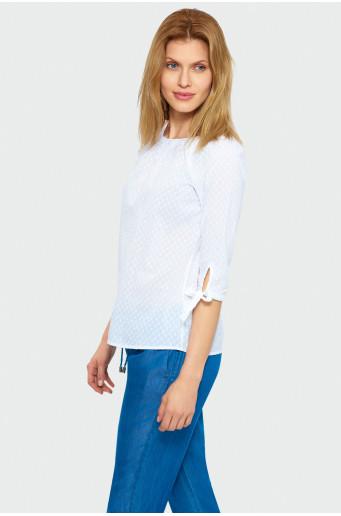 Elegantní bílá halenka