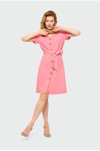Šaty na knoflíčky