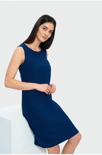 Rovné šaty bez rukávov