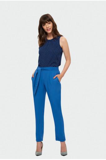 Blue classic pants