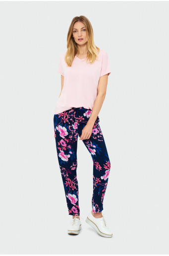 Kvetované nohavice