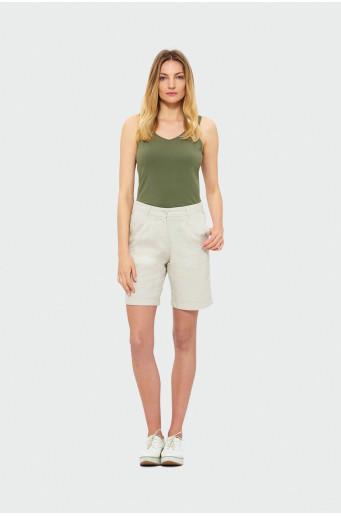 Krátké kalhoty se záhyby