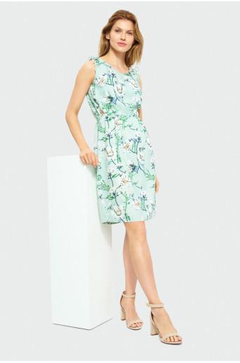 Viscose floral dress
