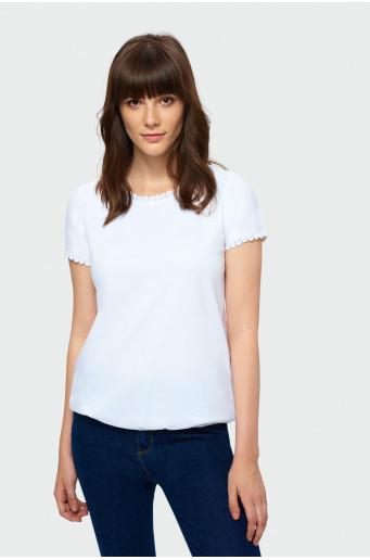 Elegant short sleeve top