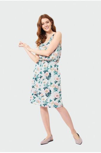Dress on straps