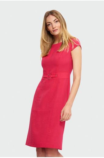 Elegant knee-length dress