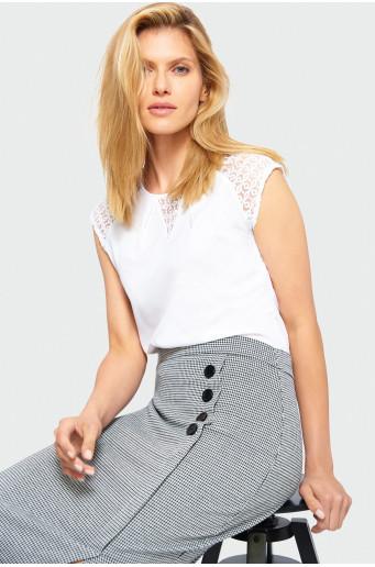 Smart lace blouse