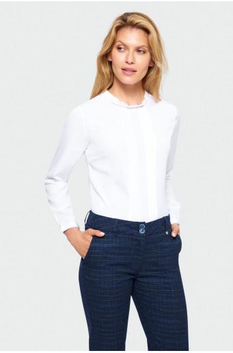 Smart ruffled blouse