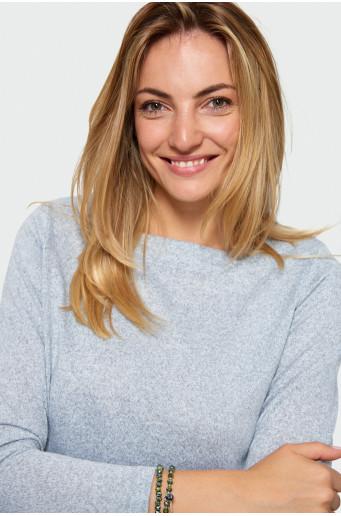 Drawcord sweater