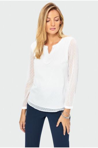 Smart blouse