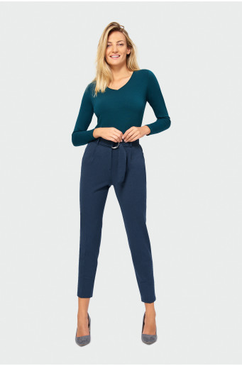Smart belt trousers