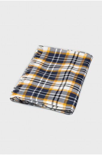 Chequered neckerchief