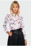 Smart floral blouse