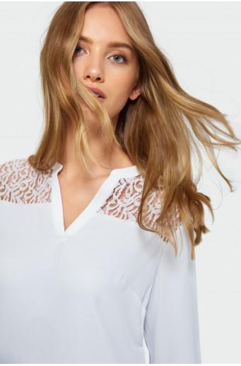 Classic lace blouse