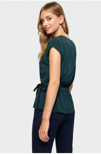 Tie waist blouse