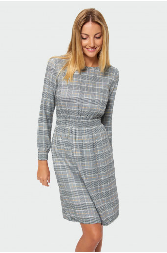 Chequered dress