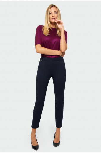 Classic cut smart trousers