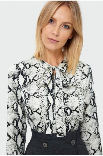 Animal print shirt