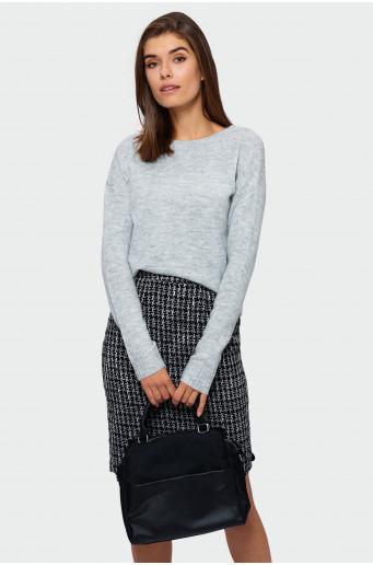 Shimmering strand sweater