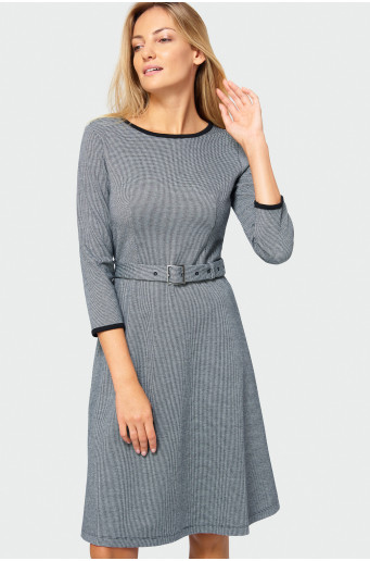 Tiny check dress