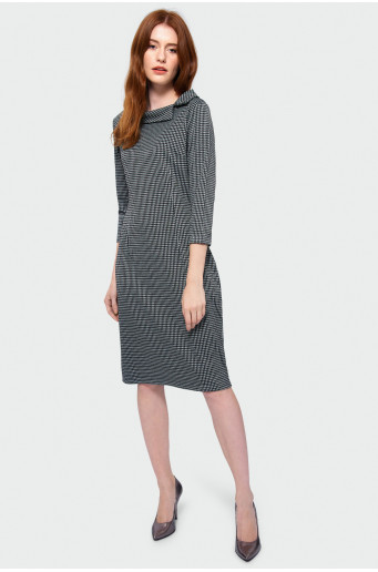 Straight patterned dress