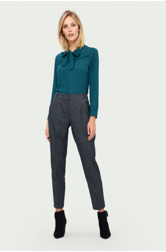 Classic gathered trousers