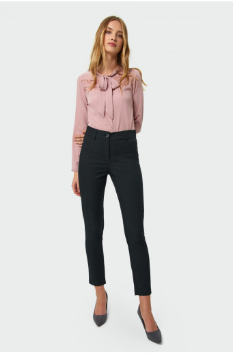 Classic straight cut trousers