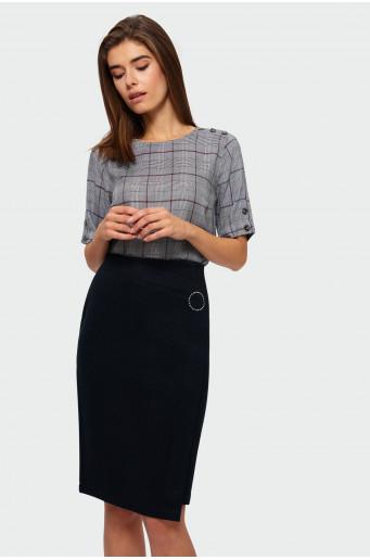 Smart pencil skirt