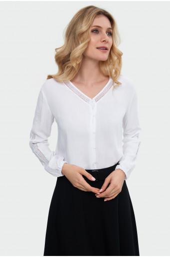 Plain rayon shirt