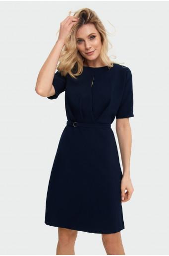 Smart gathered dress