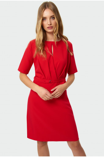 Smart gathered dress
