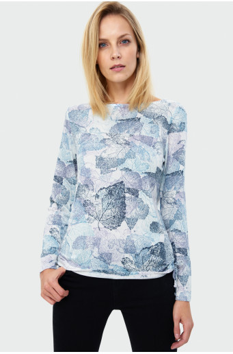 Printed sweater