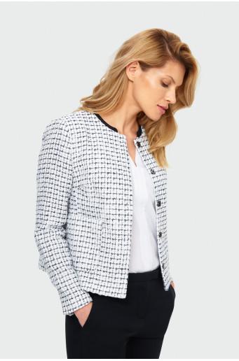 Chequered jacket