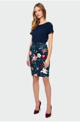 Elegantní sukně s potiskem