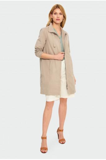 Kabát bez stojáčku