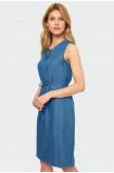 Decorative slit dress