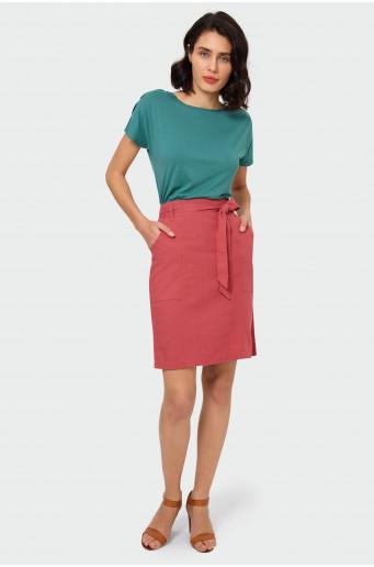 Elegantní sukně s páskem
