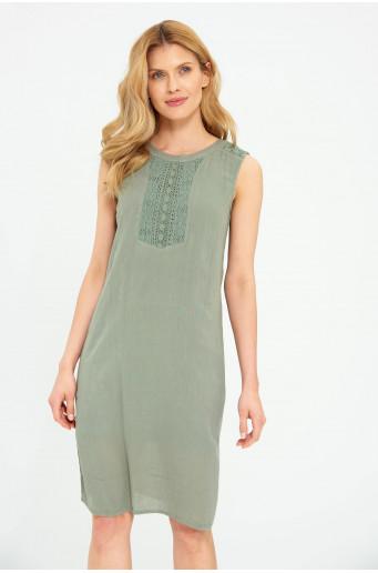 Elegantní viskózové šaty