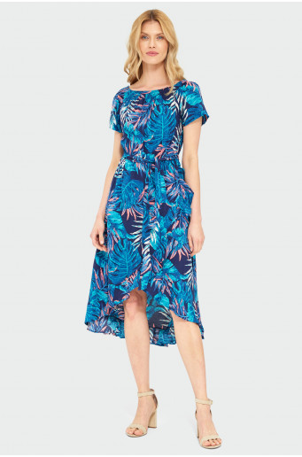 Rayon carmen dress