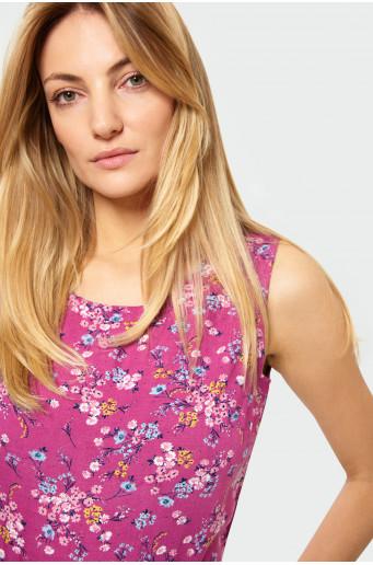Rayon printed blouse