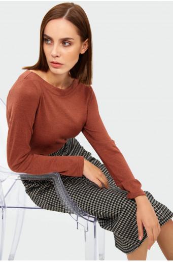 Classic straight sweater