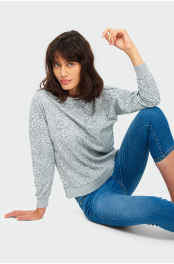 Knitted animal blouse