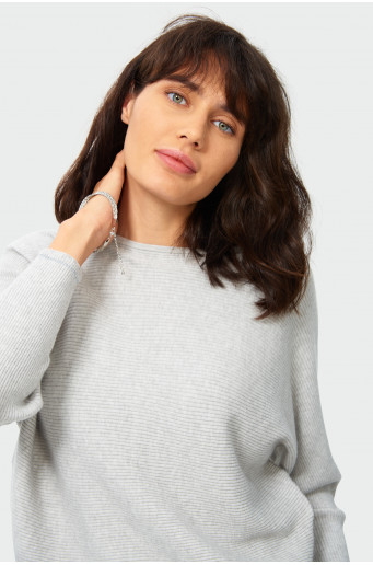 Loose structural sweater