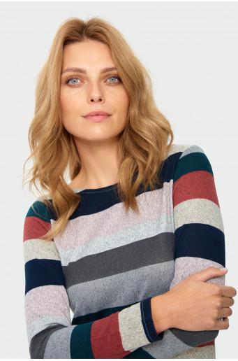 Classic printed sweater