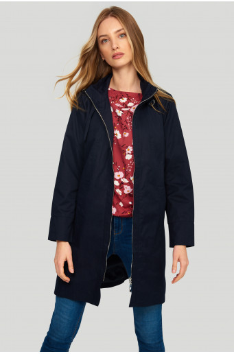 Casual straight coat