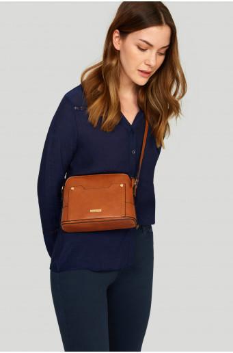 Mini caramel handbag