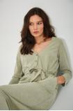 Midi belt dress